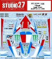スタジオ27バイク オリジナルデカールヤマハ YZR-M1 Teck 3 U.S.A 2010 #5 #11