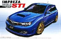 アオシマ1/24 ザ・ベストカーGTGRB インプレッサ WRX STI 5door `07 オプションホイール