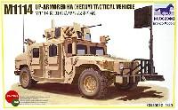 アメリカ軍 M1114 ハンビー 装甲武装戦闘車両 装甲強化型