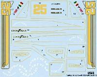 タブデザイン1/20 デカールロータス タイプ78 REBAQUE (レバーク) デカール (Ver.2011)