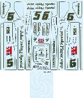 タブデザイン1/20 デカールロータス タイプ78 フルスポンサーデカール 1977 ゴールドフォイル仕様 (Ver.2011)