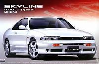 アオシマ1/24 ザ・ベストカーGTスカイライン GTS25t typeM (ECR33)