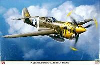 ハセガワ1/32 飛行機 限定生産P-40E ウォーホーク アリューシャンタイガー