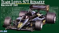 フジミ1/20 GPシリーズチーム ロータス 97T ルノー 1985年 ベルギーグランプリ仕様