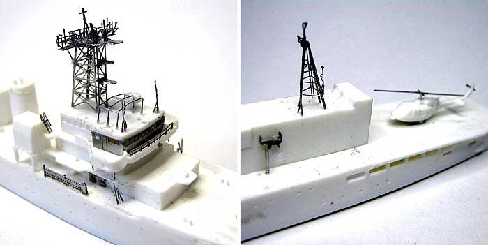 海上保安庁 巡視船 つがる型用 エッチングパーツエッチング(ピットロード1/700 エッチングパーツシリーズNo.PE-213)商品画像_3