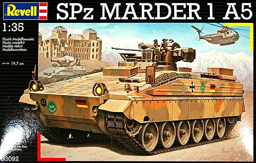 SPz マーダー 1A5プラモデル(レベル1/35 ミリタリーNo.03092)商品画像