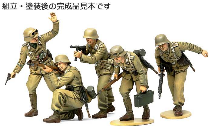 ドイツ アフリカ軍団 歩兵セットプラモデル(タミヤ1/35 ミリタリーミニチュアシリーズNo.314)商品画像_3