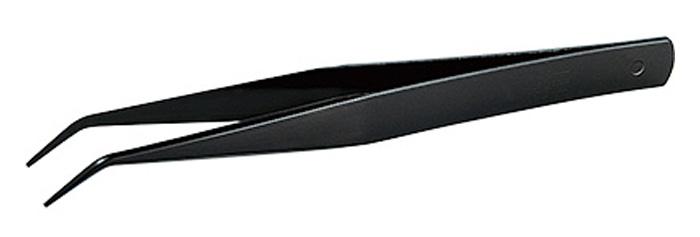 ステンレス 精密 ピンセット (AAタイプ 125mm曲 カチオンメッキ加工 )ピンセット(ミネシマmineTEC シリーズNo.F-102)商品画像_1