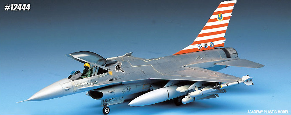 USAF F-16A ファイティングファルコンプラモデル(アカデミー1/72 AircraftsNo.12444)商品画像_2