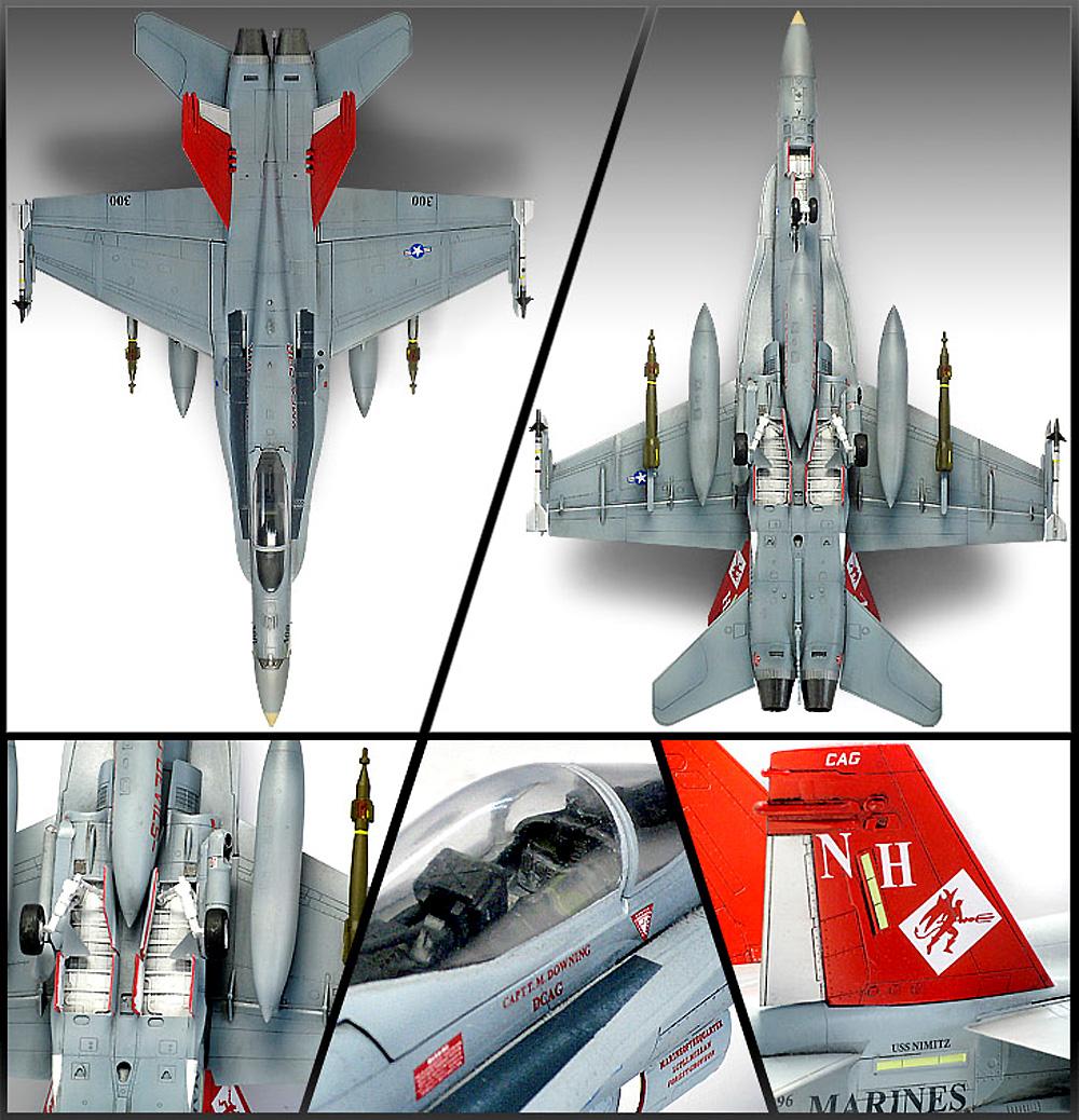 USMC F/A-18A+ ファイティングファルコン VMFA-232 レッドデビルズプラモデル(アカデミー1/72 AircraftsNo.12520)商品画像_3