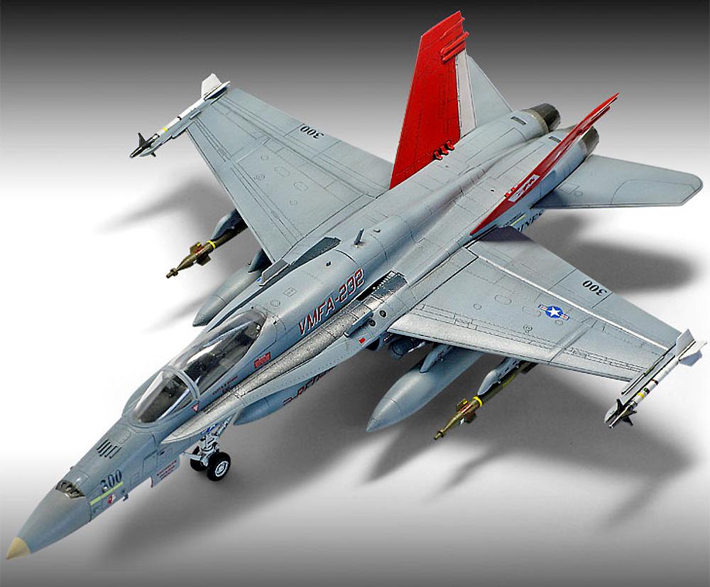 USMC F/A-18A+ ファイティングファルコン VMFA-232 レッドデビルズプラモデル(アカデミー1/72 AircraftsNo.12520)商品画像_4