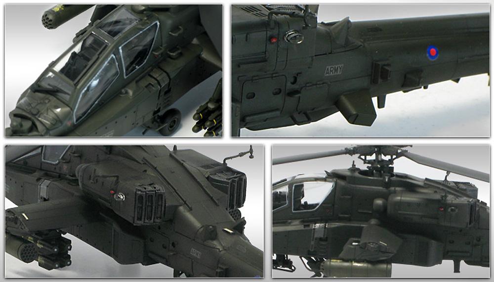 イギリス陸軍 AH-64D ロングボウ アパッチ アフガニスタンプラモデル(アカデミー1/72 AircraftsNo.12537)商品画像_3