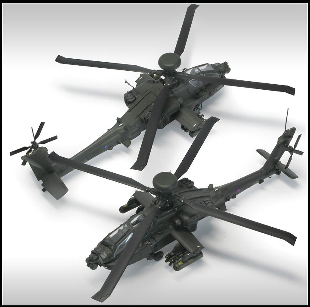 イギリス陸軍 AH-64D ロングボウ アパッチ アフガニスタンプラモデル(アカデミー1/72 AircraftsNo.12537)商品画像_4