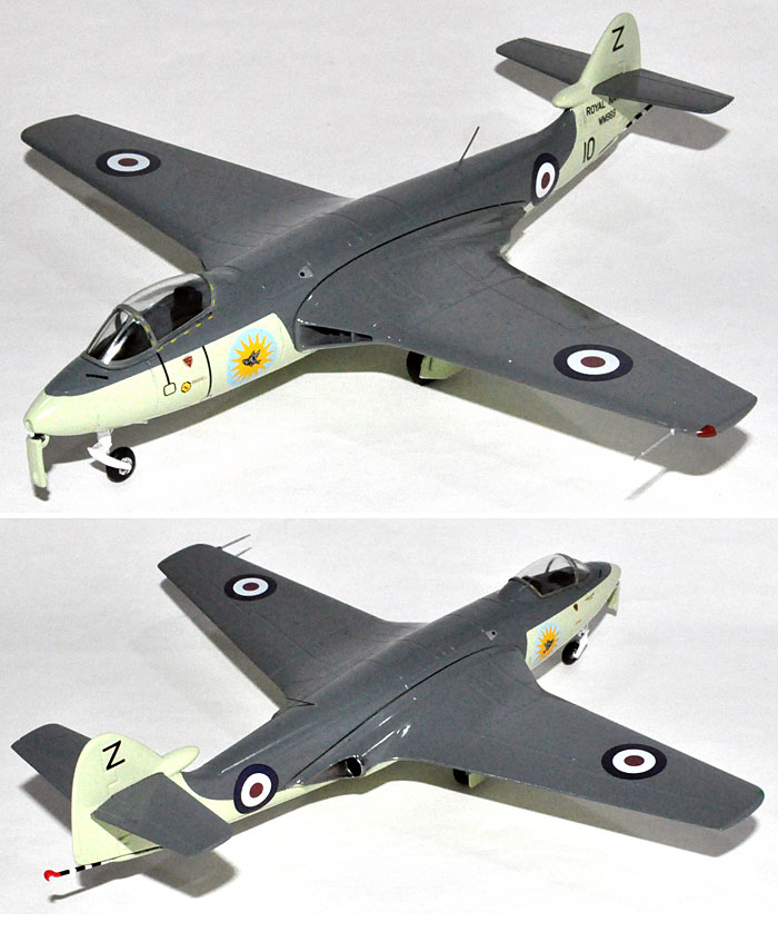 ホーカー シーホーク FB.5 イギリス海軍 第898飛行隊 (WM969)完成品(ウイッティ・ウイングスAviation 72No.AV7223001)商品画像_2