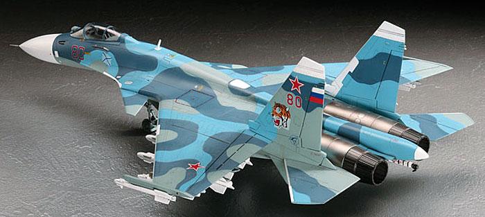 Su-33 フランカーDプラモデル(ハセガワ1/72 飛行機 EシリーズNo.E035)商品画像_2