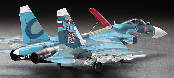 Su-33 フランカーDプラモデル(ハセガワ1/72 飛行機 EシリーズNo.E035)商品画像_3