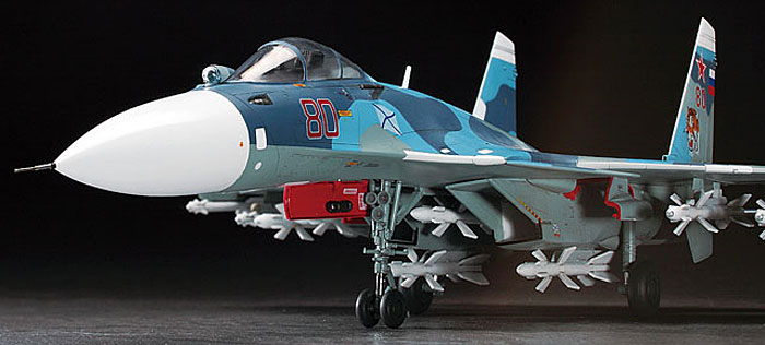 Su-33 フランカーDプラモデル(ハセガワ1/72 飛行機 EシリーズNo.E035)商品画像_4
