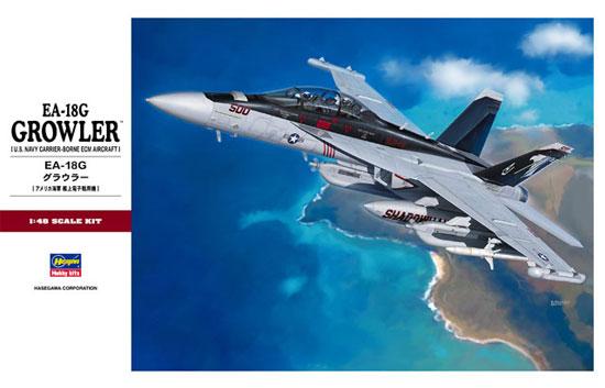EA-18G グラウラープラモデル(ハセガワ1/48 飛行機 PTシリーズNo.PT052)商品画像
