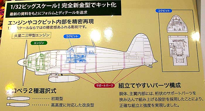 三菱 J2M3 局地戦闘機 雷電 21型プラモデル(ハセガワ1/32 飛行機 StシリーズNo.ST032)商品画像_2