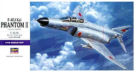 F-4EJ改 スーパーファントム (日本航空自衛隊 戦闘機)プラモデル(ハセガワ1/72 飛行機 EシリーズNo.E037)商品画像