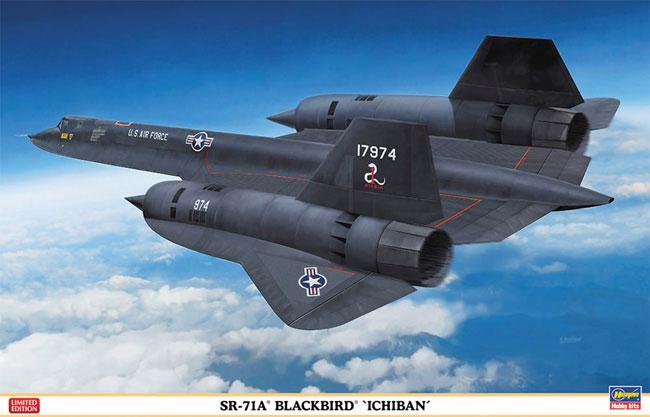 SR-71A ブラックバード ICHIBANプラモデル(ハセガワ1/72 飛行機 限定生産No.01943)商品画像