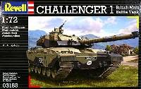 レベル1/72 ミリタリーイギリス MBT チャレンジャー 1