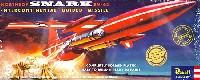 レベル飛行機モデルノースロップ スナーク SM-62 ミサイル (SSP)