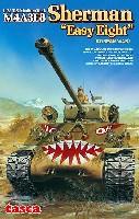 アスカモデル1/35 プラスチックモデルキットアメリカ中戦車 M4A3E8 シャーマン イージーエイト 朝鮮戦争