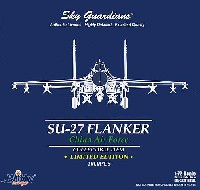Su-27(J-11) フランカー 中国空軍 五星紅旗