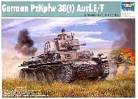 ドイツ PzKpfw.38(t) 38(t)式軽戦車 E/F型