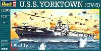 レベル1/1200 艦船キットU.S.S. ヨークタウン (CV-5)