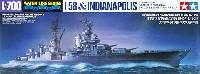 タミヤ1/700 ウォーターラインシリーズ日本潜水艦 伊-58後期型 & アメリカ海軍 重巡洋艦 インディアナポリス