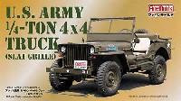 ファインモールド1/20 AFV プラスチックモデル組み立てキットアメリカ陸軍 1/4トン 4x4 トラック (スラットグリル)