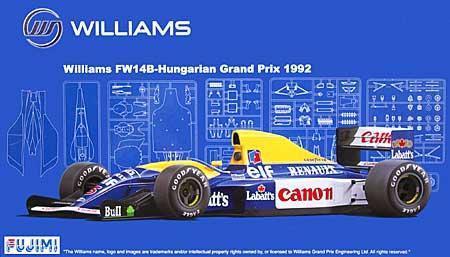 ウィリアムズ・ルノー FW14B 1992年 ハンガリーグランプリ仕様プラモデル(フジミ1/20 GPシリーズNo.旧GP026)商品画像