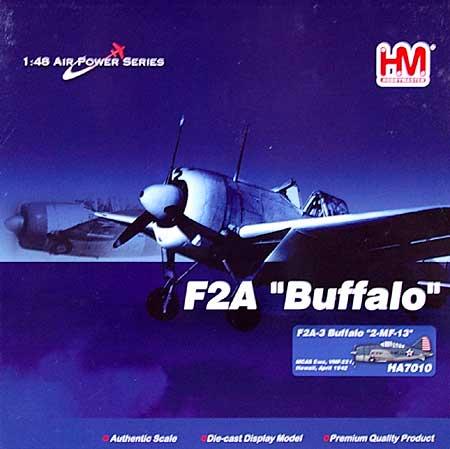 F2A-3 バッファロー 2-MF-13完成品(ホビーマスター1/48 エアパワー シリーズ (レシプロ)No.HA7010)商品画像