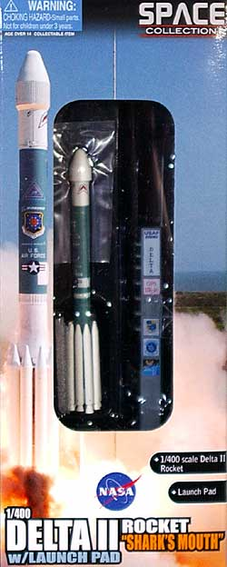 デルタ 2 ロケット w/ランチパッド USAF GPS-2R-16 シャークマウス完成品(ドラゴンスペースドラゴンウイングNo.56334)商品画像