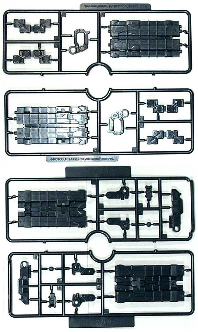 大型ミサイルランチャープラモデル(コトブキヤM.S.G モデリングサポートグッズ ウェポンユニットNo.MW-023)商品画像_2