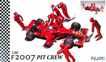 フェラーリ F2007 & ピットクルーセットプラモデル(フジミ1/20 GPシリーズNo.GP029)商品画像