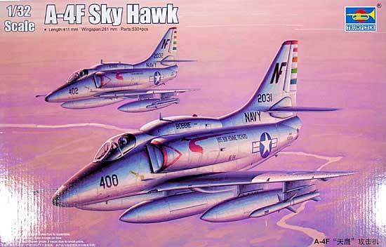 A-4F スカイホークプラモデル(トランペッター1/32 エアクラフトシリーズNo.02267)商品画像