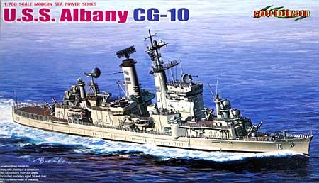 アメリカ海軍 ミサイル巡洋艦 U.S.S オールバニ CG-10プラモデル(サイバーホビー1/700 Modern Sea Power SeriesNo.7097)商品画像