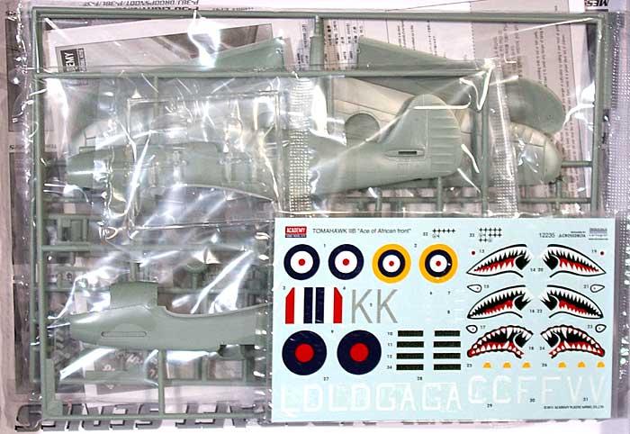 トマホーク Mk.2B アフリカンエースプラモデル(アカデミー1/48 Scale AircraftsNo.12335)商品画像_1