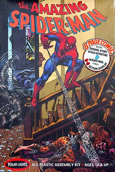 ザ・アメージング スパイダーマンプラモデル(ポーラライツプラスチックモデルキットNo.POL855)商品画像