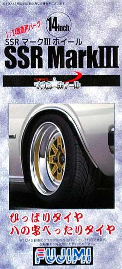SSR マーク 3 ホイール (14インチ) (ひっぱりタイヤ ハの字べったりタイヤ)プラモデル(フジミTHE・ホイールNo.TW065)商品画像