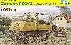 ドイツ RSO/03 (ディーゼルエンジン型) w/5cm Pak38 対戦車砲