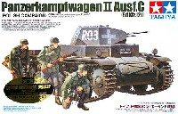 タミヤスケール限定品ドイツ 2号戦車 C型 (ポーランド戦線) (ウェザリングマスター付き)