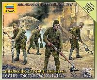ズベズダART OF TACTICソビエト 工兵 1941-1942