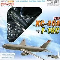 アメリカ空軍 KC-46A + F-16C セット