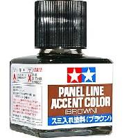 タミヤメイクアップ材スミ入れ塗料 ブラウン