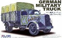 フジミ1/72 ミリタリーシリーズドイツ 軍用 3t トラック (迷彩デカール付き)