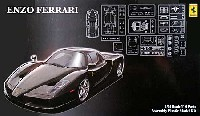 フジミ1/24 リアルスポーツカー シリーズ (SPOT)エンツォ フェラーリ ブラックボディ デラックス (エッチングパーツ付き)